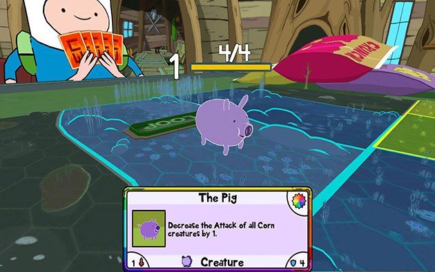 Card Wars Adventure Time screenshot 1