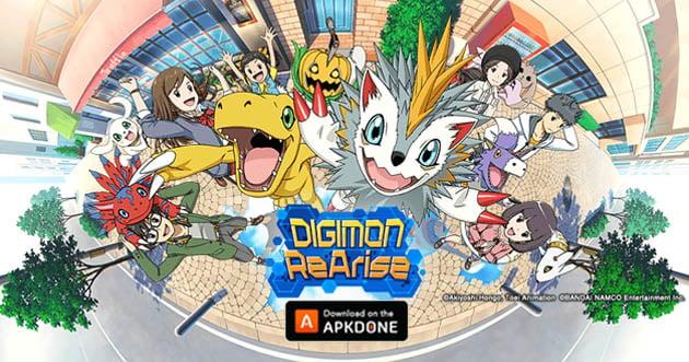 Digimon ReArise APK 2 6 0 (Bandai Namco) Download for Android