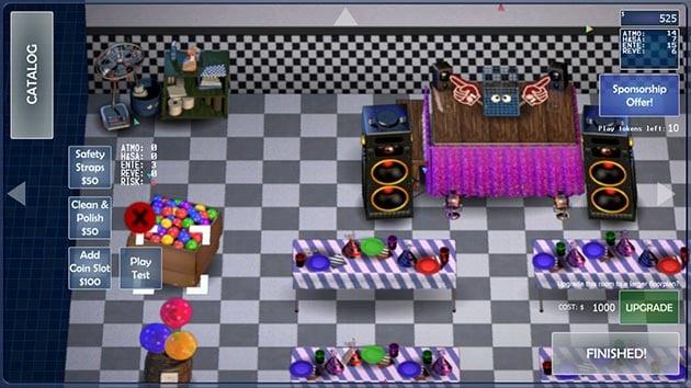 FNaF 6: Pizzeria Simulator screenshot 1