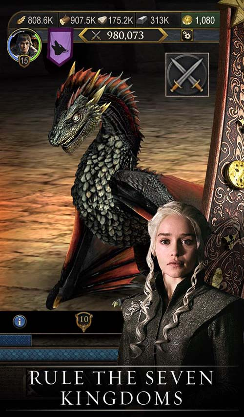 Game of Thrones: Conquest screenshot 1
