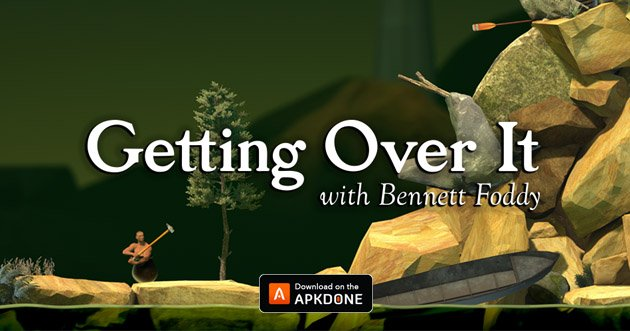 Getting Over It with Bennett Foddy poster