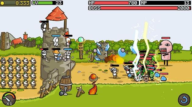 Grow Castle screenshot 2