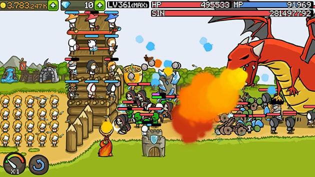 Grow Castle screenshot 3