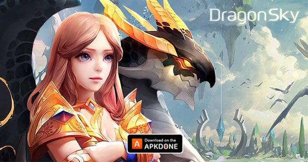 Idle & merge - Dragonsky poster