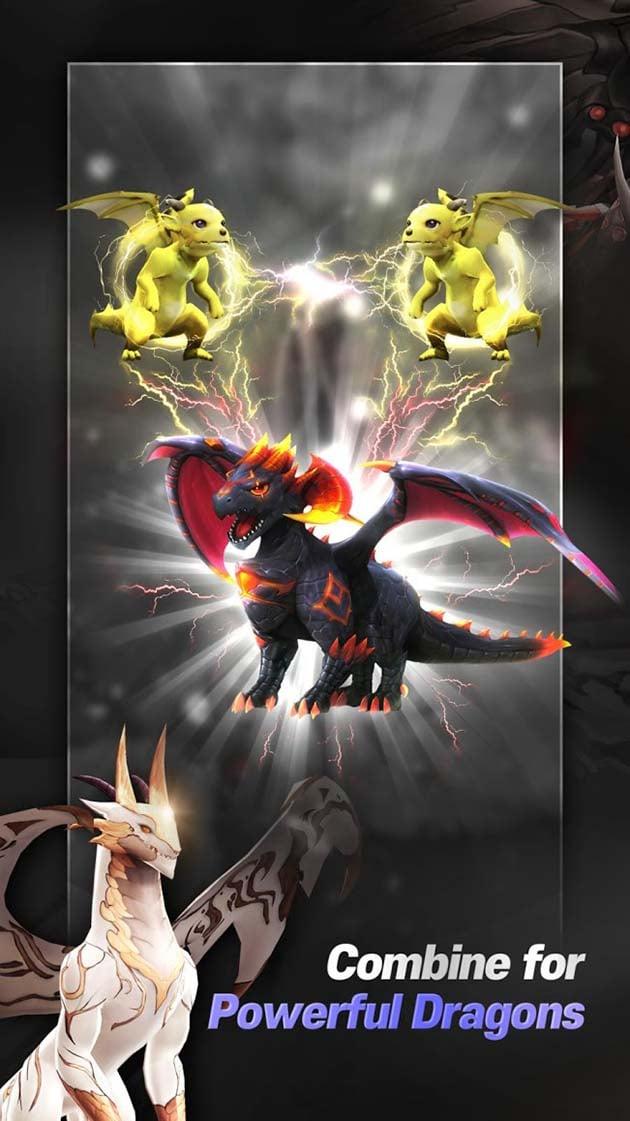 Idle & merge - Dragonsky screenshot 1