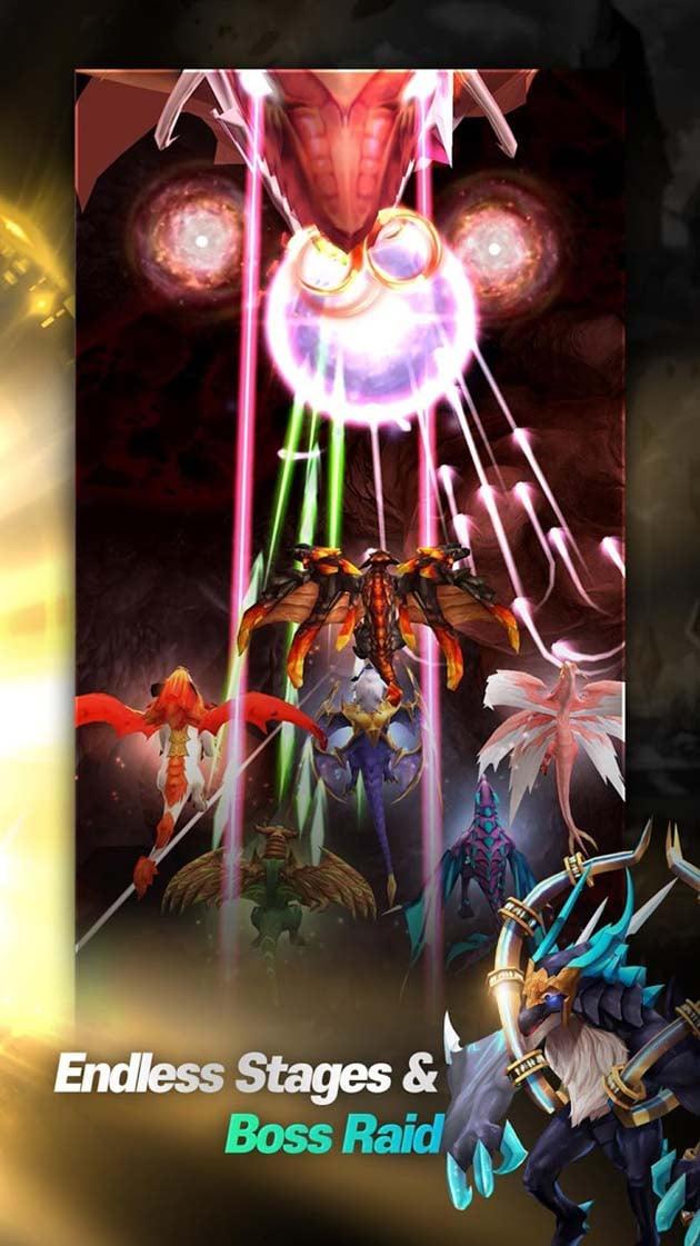 Idle & merge - Dragonsky screenshot 3
