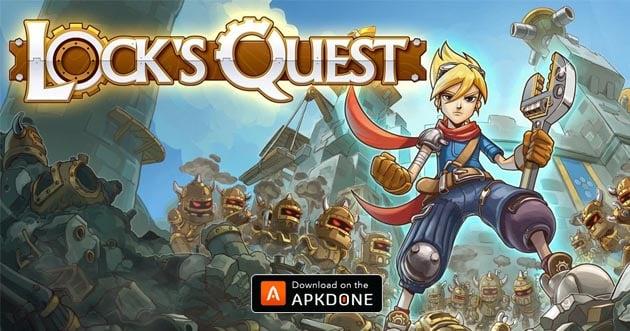 Cartel de Lock's Quest