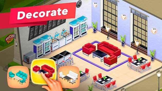 My Cafe screenshot 2