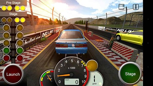 No Limit Drag Racing screenshot 1