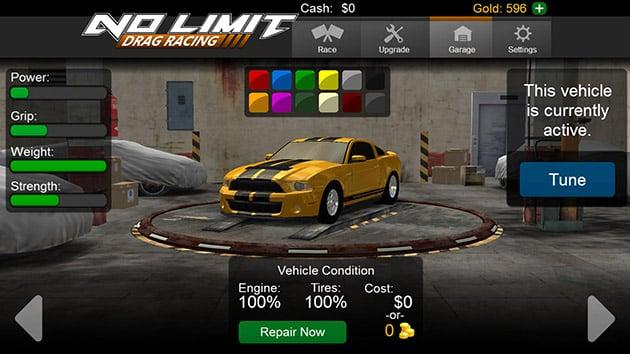 No Limit Drag Racing screenshot 3