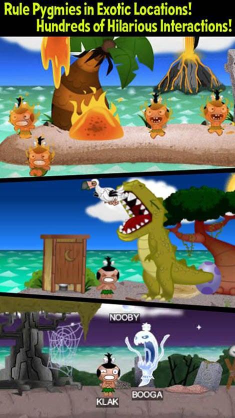 Pocket God screenshot 2