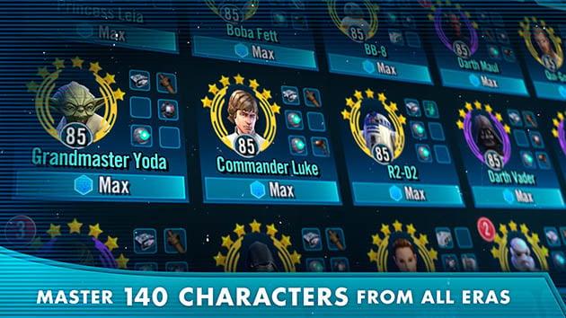 Star Wars: Galaxy of Heroes screenshot 4