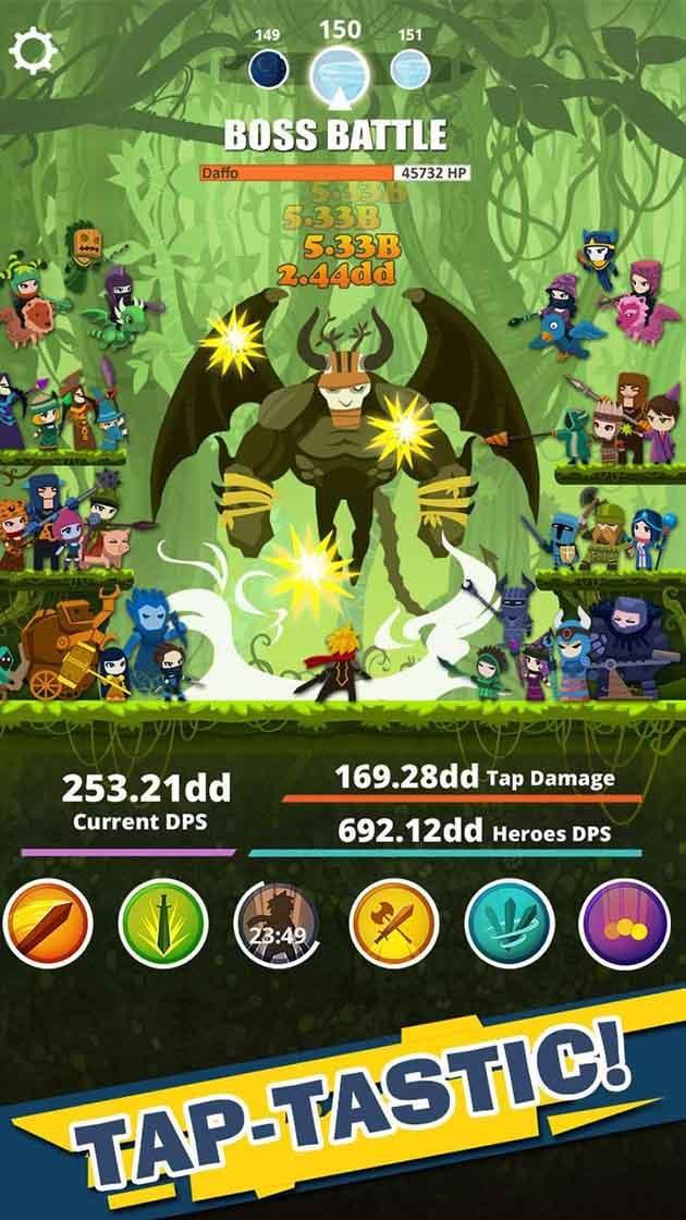 Tap Titans screenshot 1