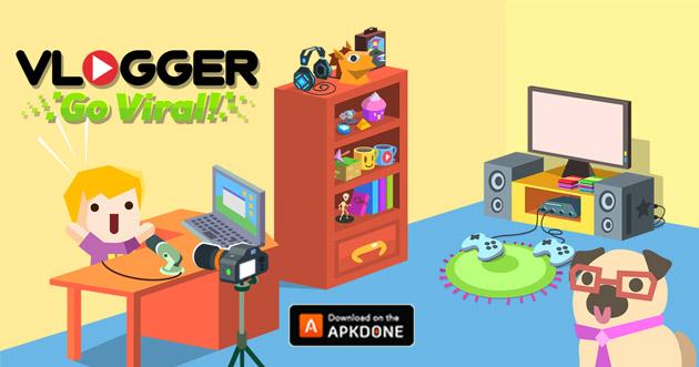 Vlogger Go Viral Tuber Game poster