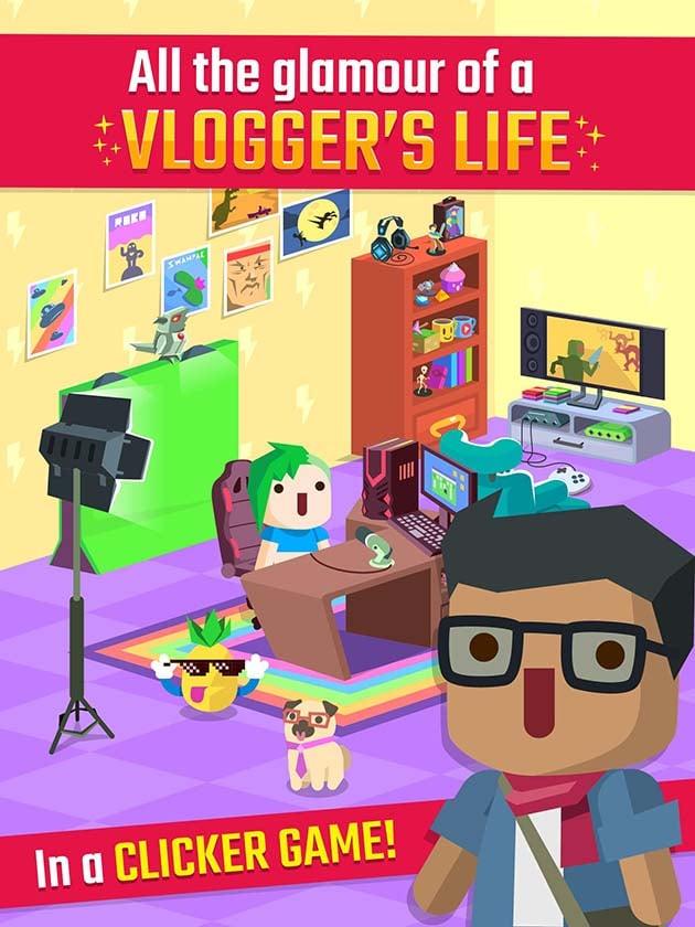 Vlogger Go Viral Tuber Game screenshot
