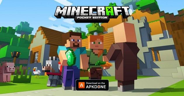 Minecraft Pocket Edition poster