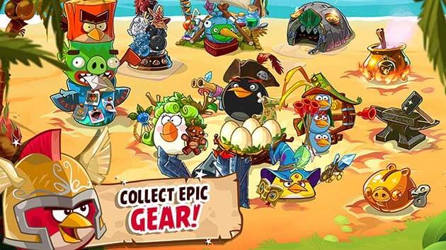 Angry Birds Epic RPG screenshot 1