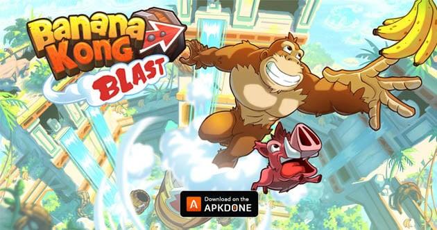 Banana Kong Blast MOD APK + OBB Data v1 0 8 for Android