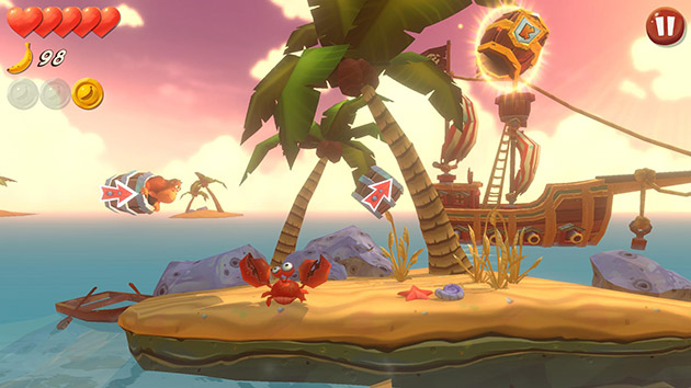 Banana Kong Blast screenshot 1