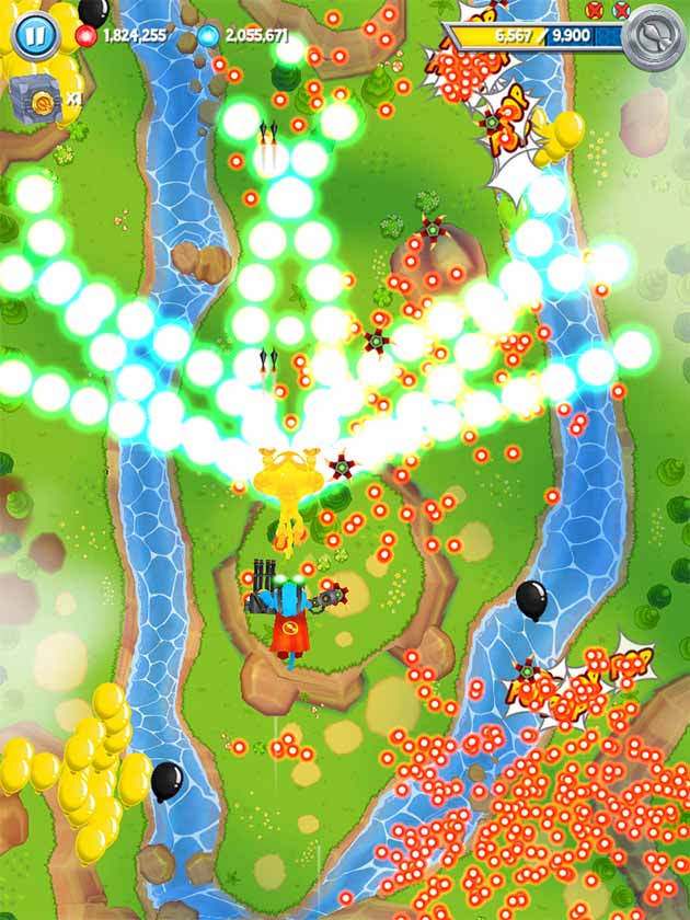 Bloons Super Monkey 2 screenshot 1