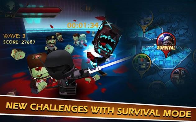 Call of Mini: Zombies screenshot 2