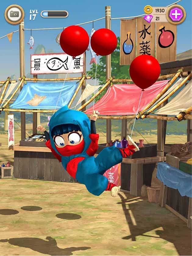 Clumsy Ninja screenshot 3