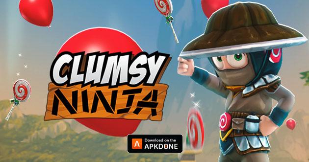 Clumsy Ninja poster