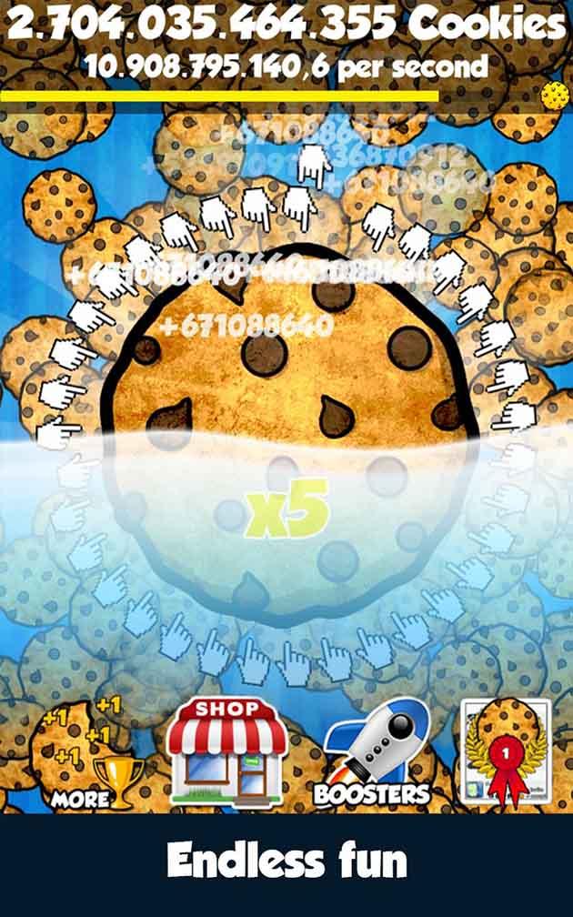 Cookie Clickers screenshot 4