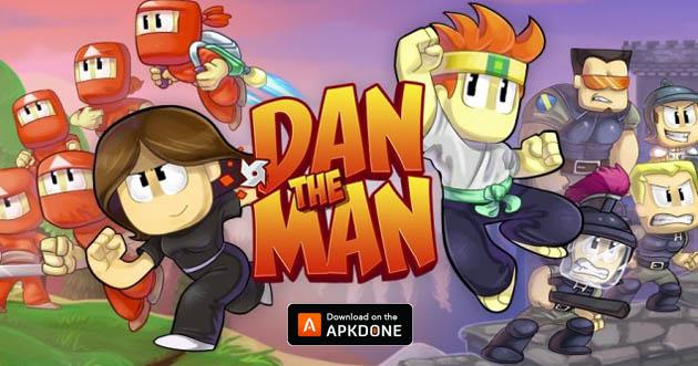 Dan The Man poster