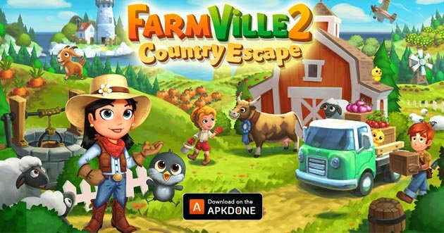 FarmVille 2: Country Escape poster