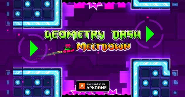 Geometry Dash Meltdown poster
