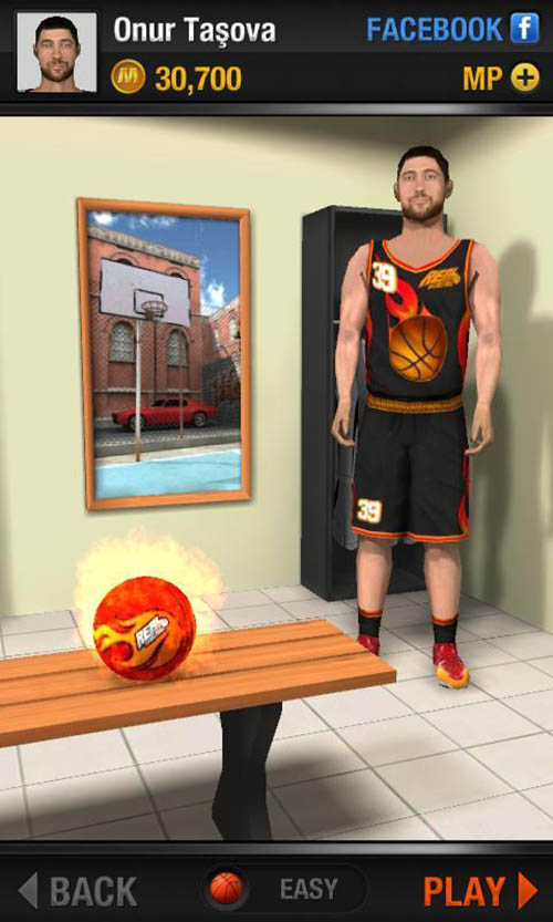 Real Basketball poster screenshot 1