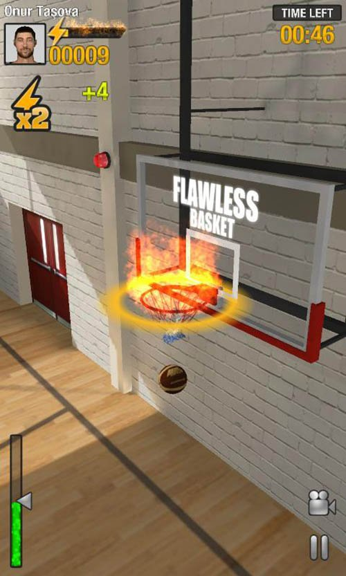 Real Basketball poster screenshot 2