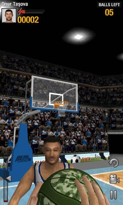 Real Basketball poster screenshot 3