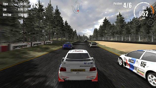Rush Rally 3 screenshot 1