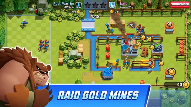 Rush Wars MOD APK 0 104 3 (Unlocked) for Android - Download