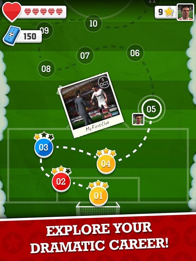 Score Hero ekran görüntüsü 3