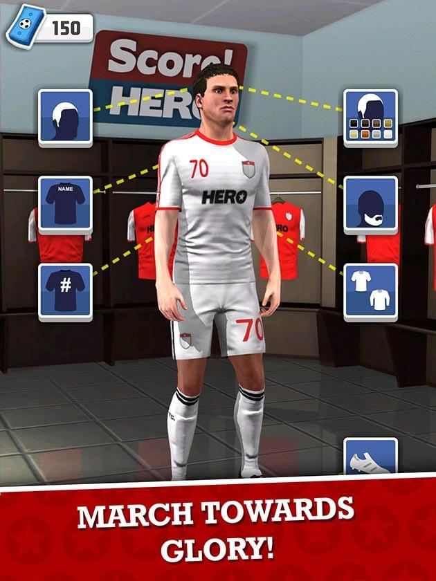 Score Hero ekran görüntüsü 4