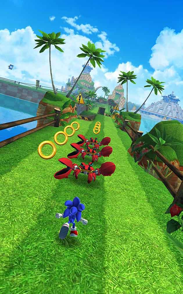 Sonic Dash screenshot 1