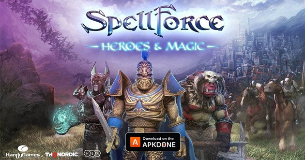 SpellForce Heroes and Magic poster