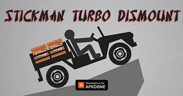 Stickman Dismounting poster