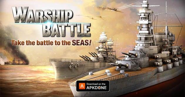 Warship Battle: 3D World War II poster