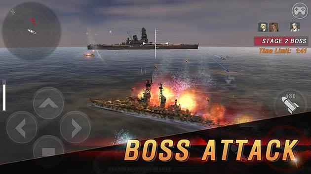 Warship Battle: 3D World War II screenshot 2