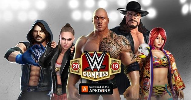 WWE Champions poster