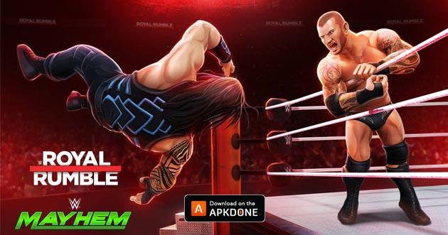WWE Mayhem poster