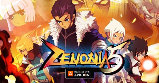 ZENONIA 5 poster
