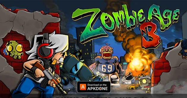 Zombie Age 3 MOD APK 1 3 7 (Unlimited Ammo) for Android