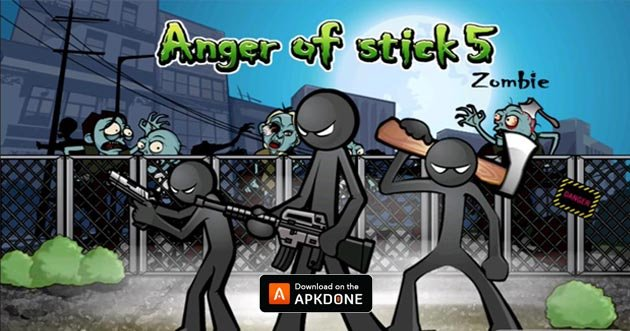 Anger of Stick 5: Zombie poster