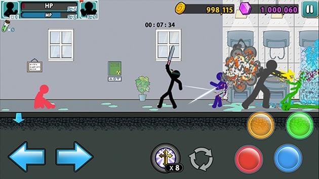 Anger of Stick 5: Zombie screenshot 3