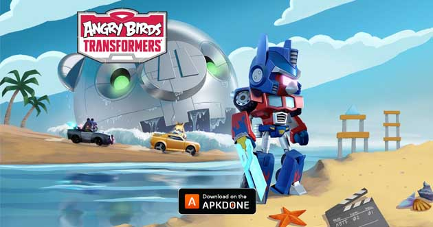 Angry Birds Transformers poster